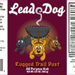 LEAD DOG RUGGED TRAIL DUST 6.5