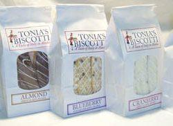 Tonia's Biscotti
